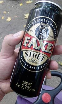 Дакский стаут Faxe